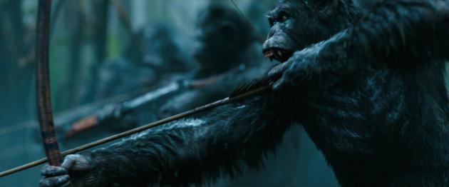 《猩球崛起3:终极之战》 剧照