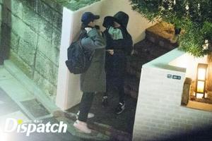 韩国媒体昨日曝光了两人今年1月在东京约会的照片
