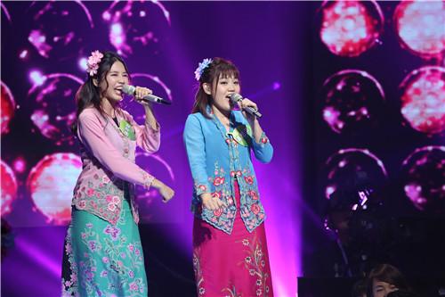 《我想和你唱》爆红海外 马来姐妹花表白陶晶莹