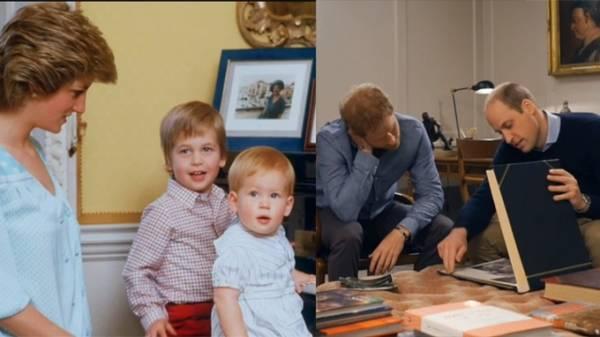 戴安娜王妃逝世20周年 威廉和哈里王子追忆母亲说