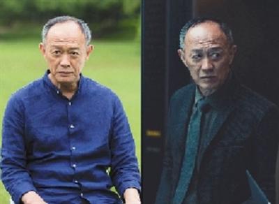 《外科风云》里的老院长(左)和《逆时营救》里的科学家(右),表情系统甚至讲话语气都如出一辙。
