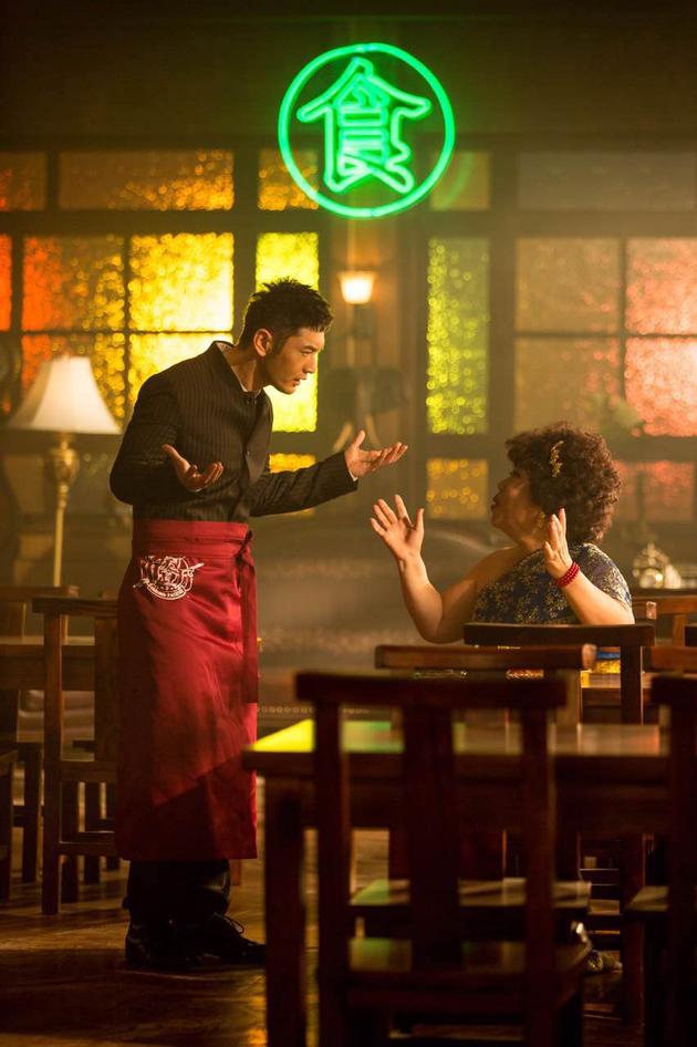 《中餐厅》遇沟通危机?黄晓明多语言沟通无一用
