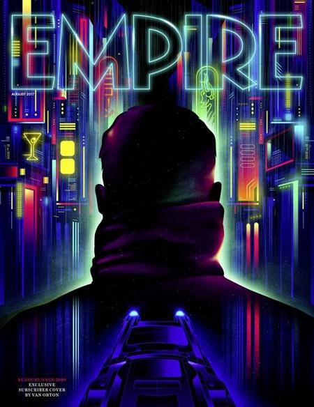 《银翼杀手2049》登上《帝国》封面