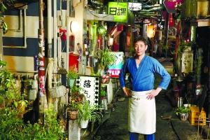 小林薰扮演只在深夜营业的食店老板。