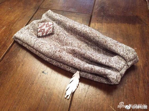 陈柏霖的头巾