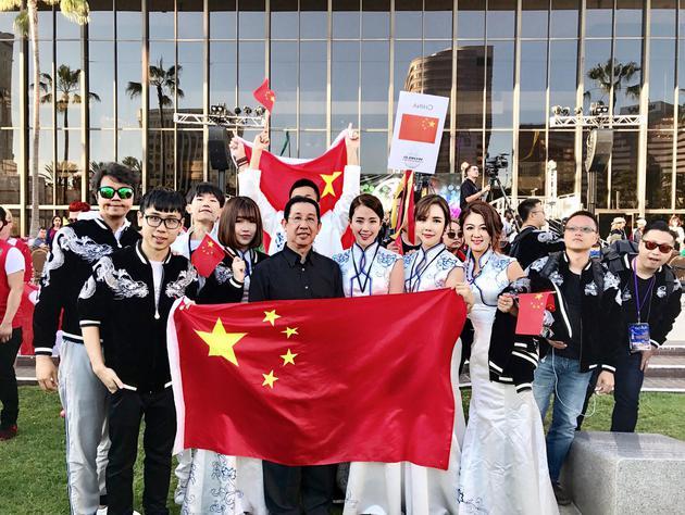 WCOPA中国代表队艺人大合影