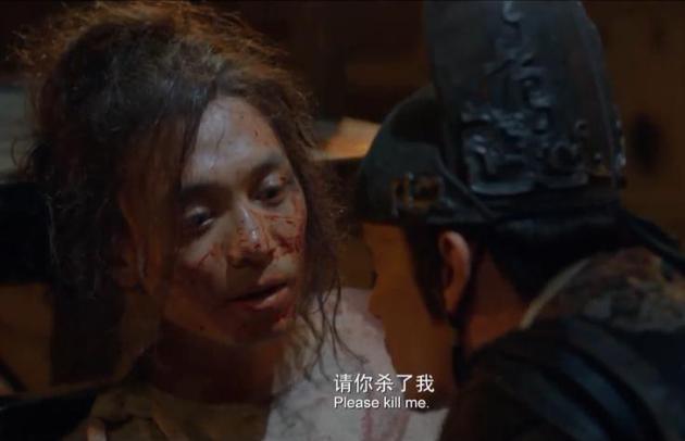 第一部《绣春刀》里,杨轶最终在狱中被张震所杀