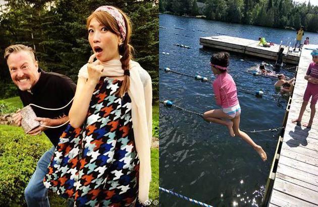 夏天跳水一双长腿超吸睛