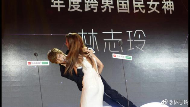 林志玲公主抱郭敬明
