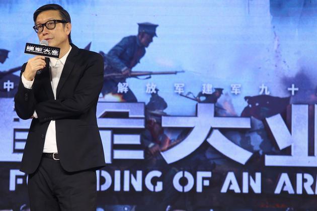 《建军大业》重造南昌城 刘伟强称电影好看最重要
