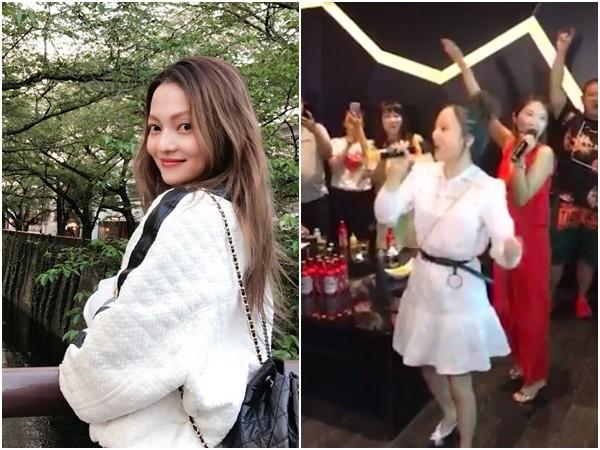 惊喜!女子KTV嗨唱《欧若拉》 张韶涵竟突然现身