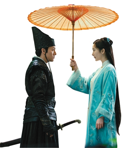 《绣春刀Ⅱ》中,沈炼继上一部单恋周妙彤后,又爱上了杨幂扮演的北斋