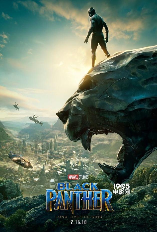 �9�e����-�����,���e:-f_《黑豹》全新海报 国王站在巨型雕像上俯视众生