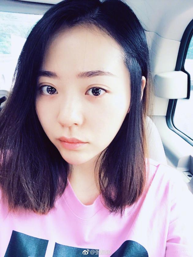 张靓颖:要发新歌的人不会说她马上要发新歌