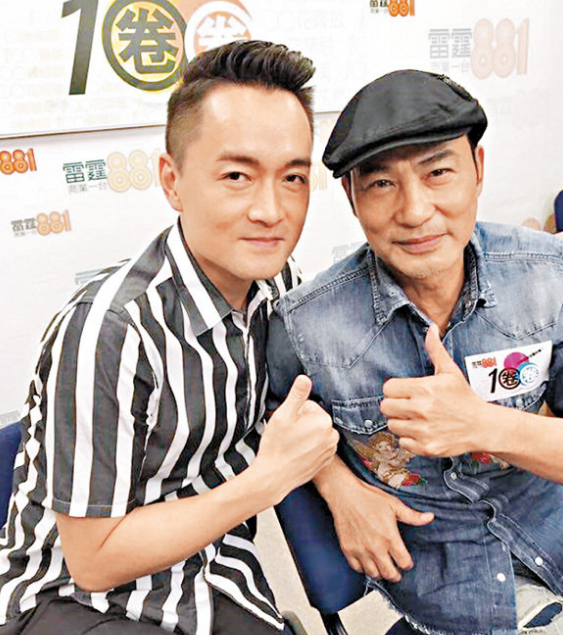 任达华称自己在TVB打好根底 学会准时忍耐和包容