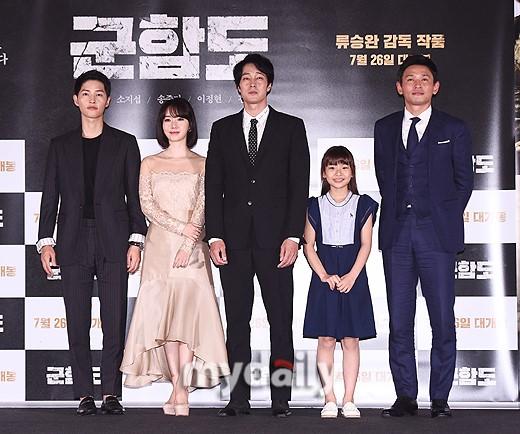 《军舰岛》今日在韩上映 夺韩国电影预售榜冠军