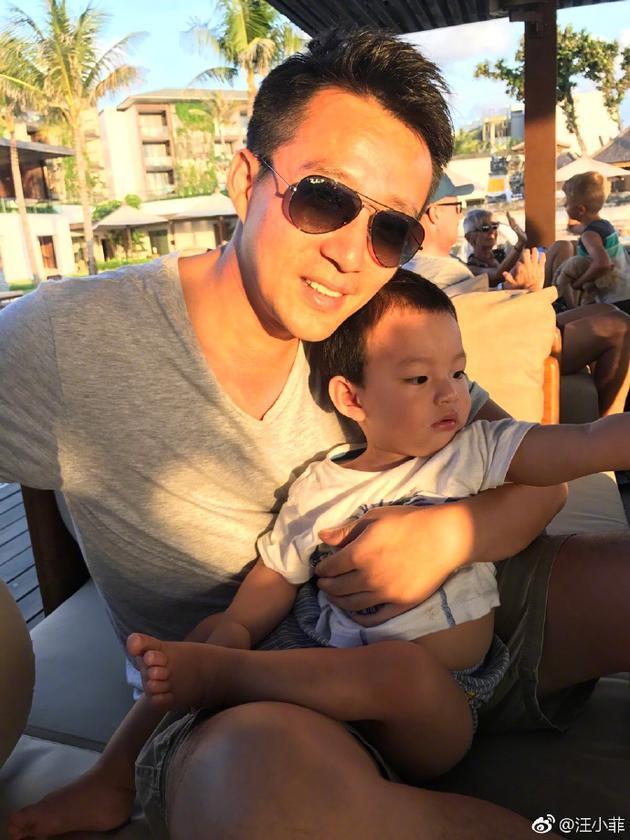 汪小菲与儿子