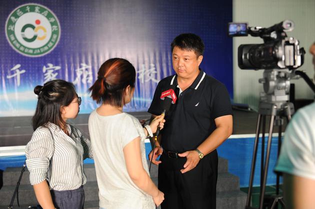 北京市曲剧团孙东兴团长接受媒体采访