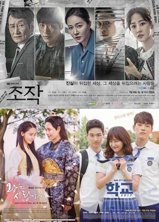 SBS《操作》蝉联韩国周一周二剧收视冠军