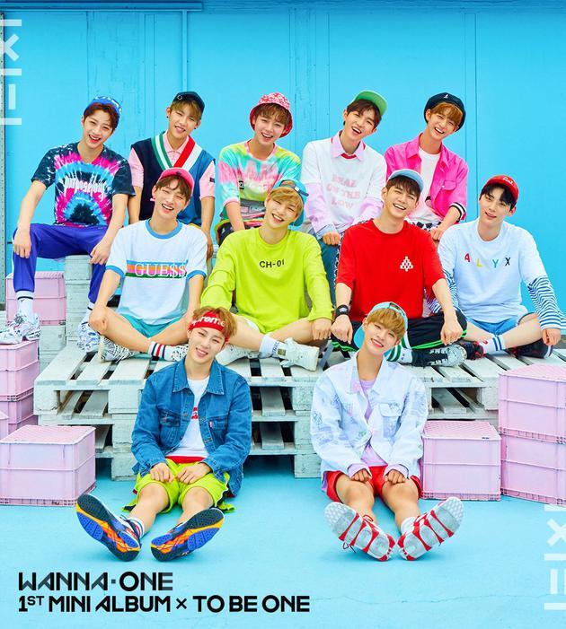 WannaOne新专封面照公开 主打歌投票结果将公布