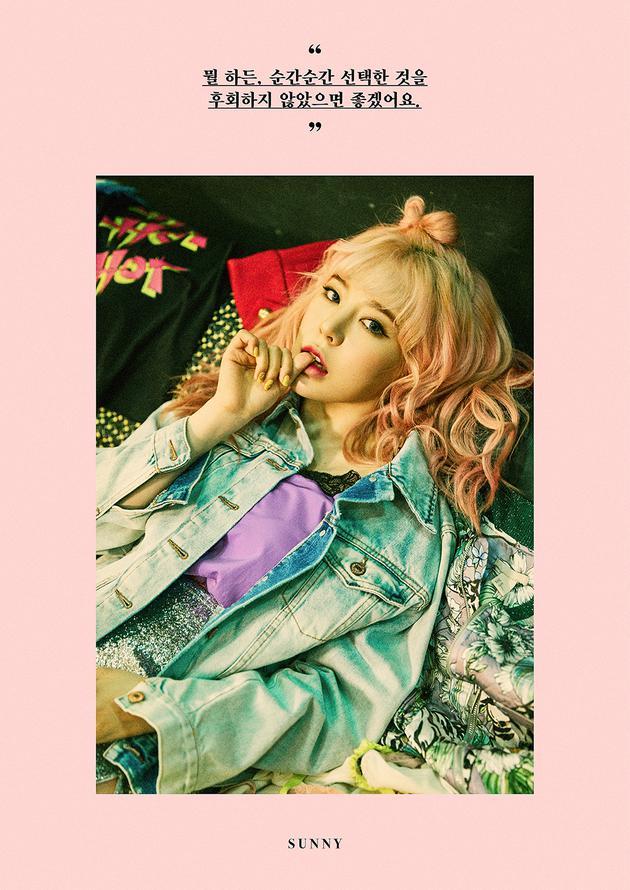 少女时代Sunny个人预告公开 双主打MV预告将发