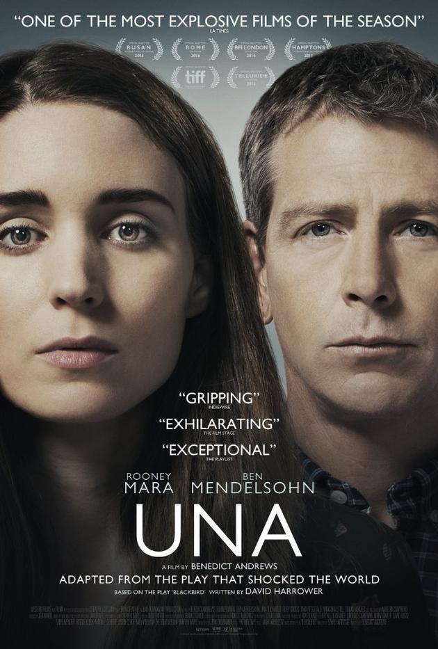 鲁妮·玛拉主演《乌娜》北美终获发行权 十月上映