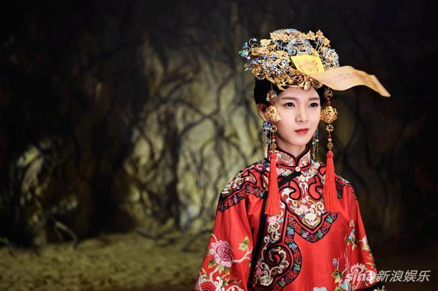 《无心法师》陈瑶着红嫁裳 与韩东君上演情感纠葛