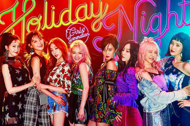 少女时代团体预告照公开 双主打MV将4日晚公布