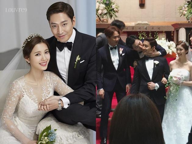 Eric与罗惠美在7月1日携手步入礼堂,唯美的婚礼羡煞众人。
