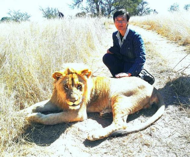 王往非洲拍戏感触颇多 与动物亲近感怀大自然