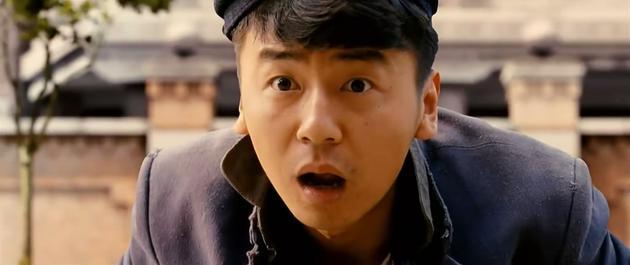 """雷佳音在2012年宁浩执导的《黄金大劫案》中担纲男一号""""小东北"""""""