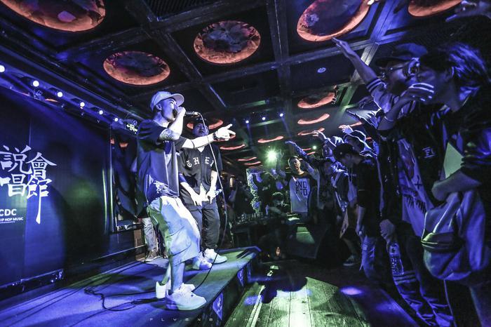 CDC说唱会馆巡演昆明站现场(图片来自网络)