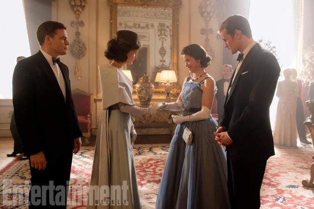 《王冠》第二季曝剧照 英国皇室喜迎肯尼迪拜访