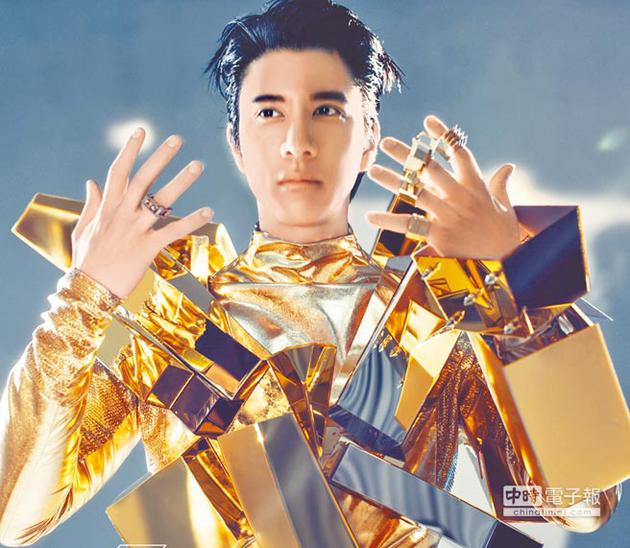 宣传照风格前卫 王力宏9月新专辑与机器人有关?