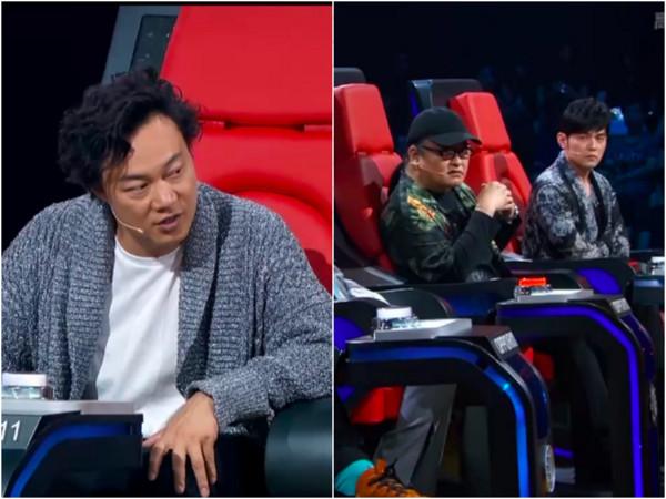 刘欢对学员讲评 陈奕迅长叹一声意外被收声
