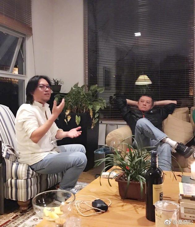 高晓松零绯闻晚上和爷们喝茶 曝王朔在写牛逼货