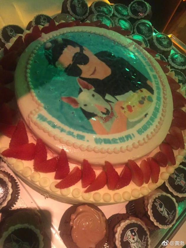 孙红雷生日蛋糕