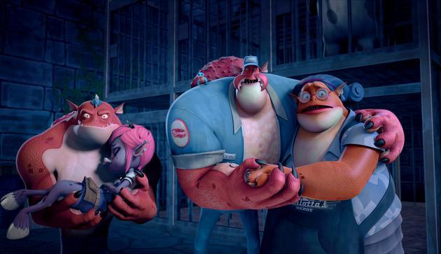 《怪物岛》中文预告 惊夏亮相带你遨游怪物世界