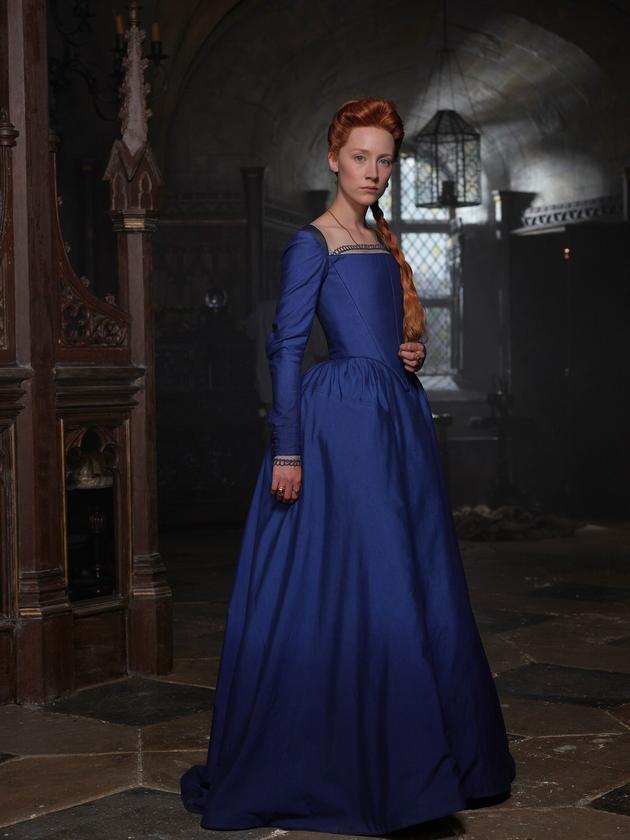 苏格兰女王传记片开拍 罗南饰玛丽一世造型曝光