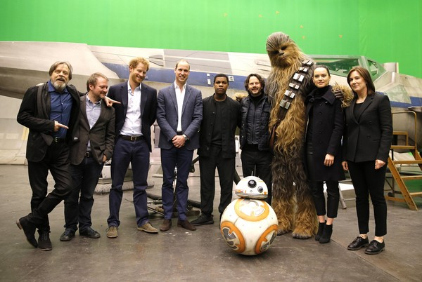 英国威廉王子与哈利王子将出演《星球大战8》