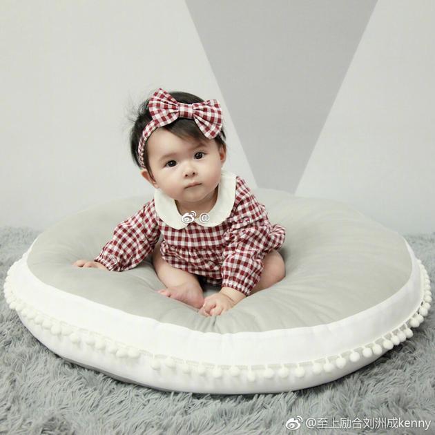刘洲成又晒女儿照片述思念 图片竟来自前妻微博!