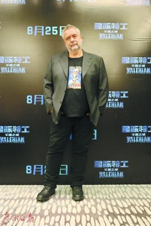 吕克贝松回怼中国媒体:你觉得吴亦凡没才华?