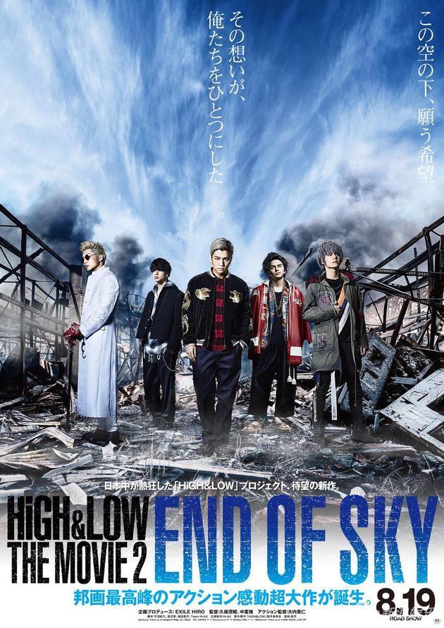 热血街区电影版2:天空尽头-日本票房 热血街区2 夺冠 神偷奶爸3 居亚