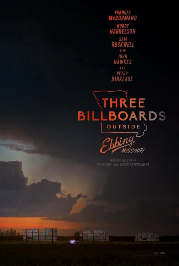 《三块广告牌》闭幕伦敦电影节 加菲新片开幕