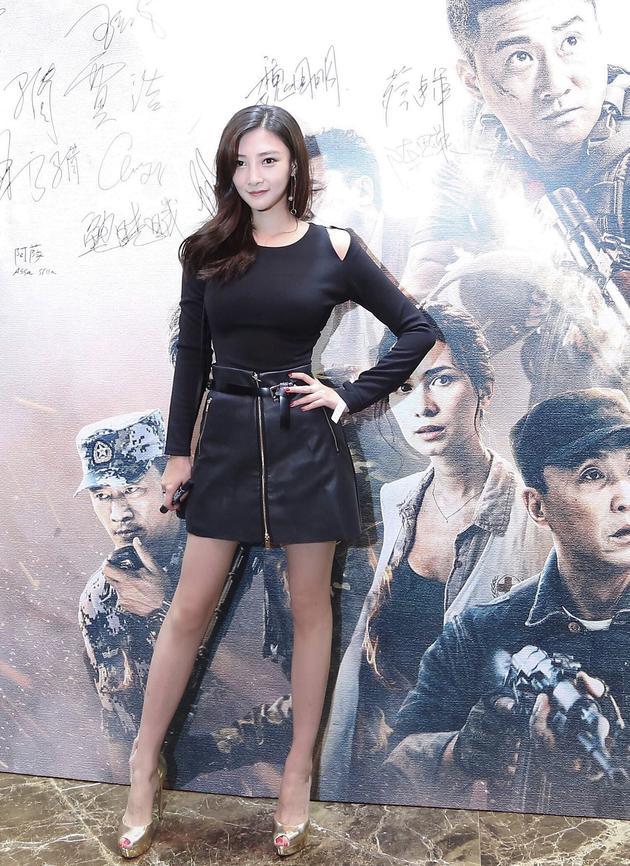 出席《战狼2》答谢宴 柏安祝贺吴京创影史纪录