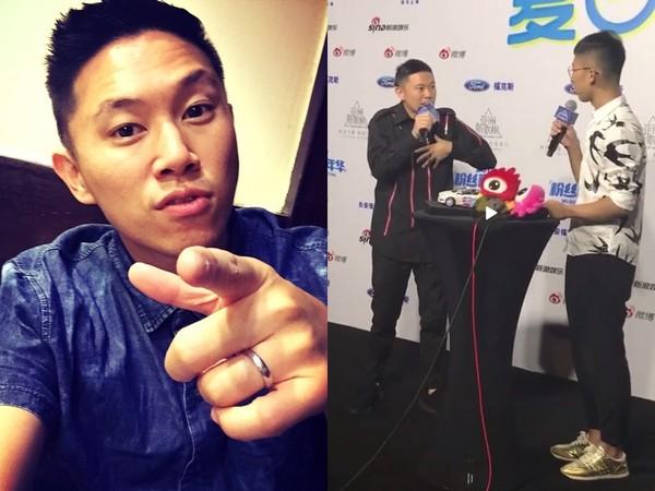 欧阳靖参加亚洲新歌榜和主持人谈PG One
