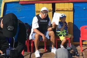 (顺序2)陈小春带儿子参加爸爸去哪儿5