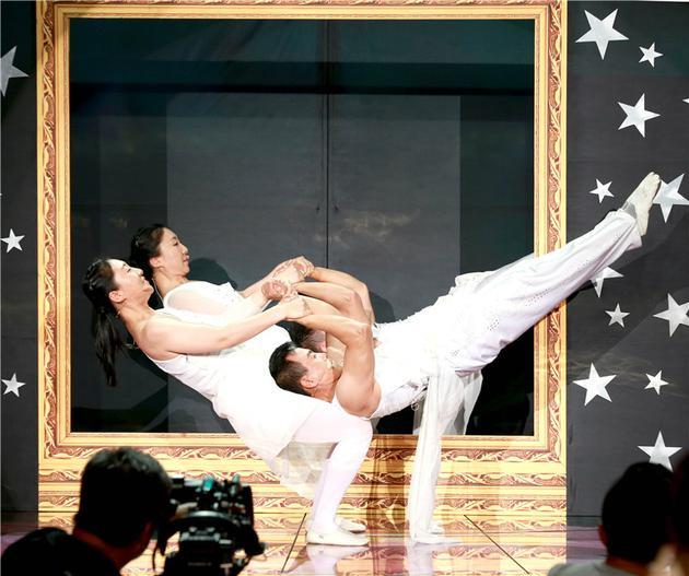 《中国好家庭》奇缘双胞胎家庭秀绝技 惊艳四座