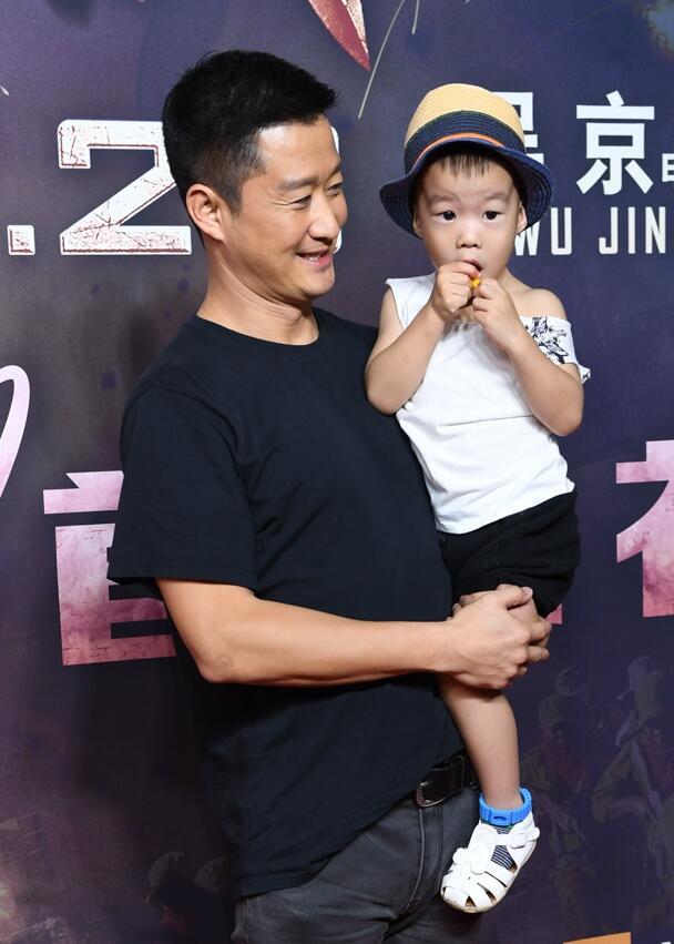 吴京:我希望我的儿子将来是个真正的英雄