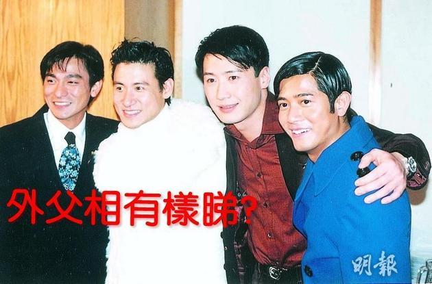 当年的四大天王刘德华、张学友、黎明与郭富城,现在只剩下黎明还没有天王的下一代。